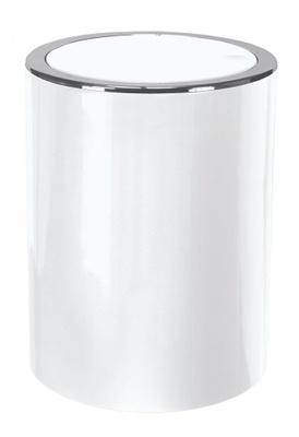 Kleine Wolke Clap Søppelbøtte med vippelokk - 5L White