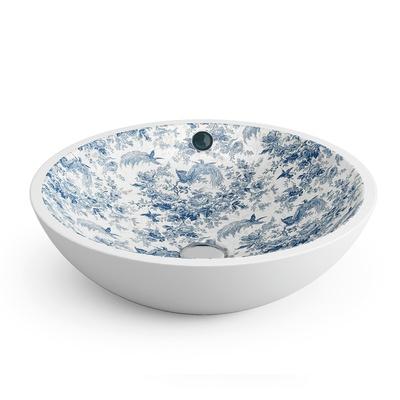 Castellòn decorado Toile de Jouy Blue porselensservant