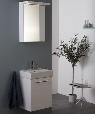 Alterna Quadro Møbelpakke, 3-i-1 (servant, skap, speilskap)