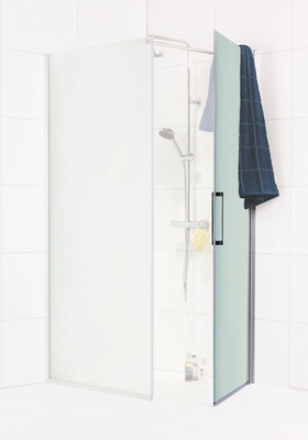 Noro Dusjdør Frost C 80 Sm Sølvmatt Frostet Glass 2017