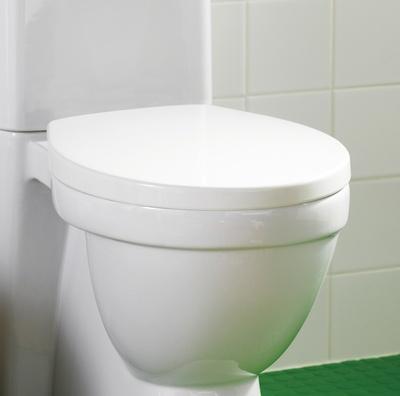 Hafa Kioto toalettlokk hvit