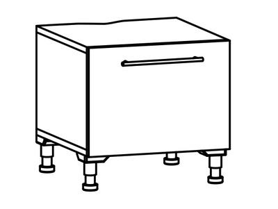 Skuff lav 63 for vaskemaskin