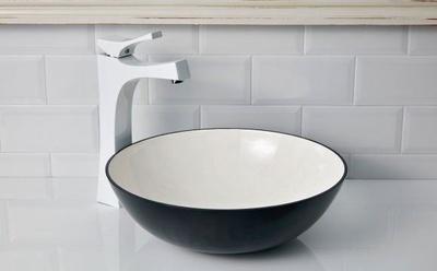 Noja servant grå/hvit aluminium