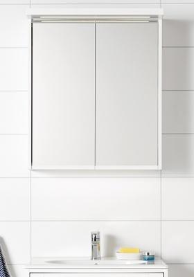 Hafa Eden speilskap 600 hvit