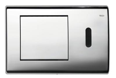 Tece TECEplanus elektr. m/IR sensor, 6 V batteri, forkrommet stål