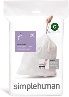 Simplehuman Simplehuman Avfallspose C, 20 Stk Pr Rull