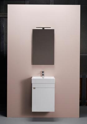 Hafa Go 450 kompl m speil hvit, og servant