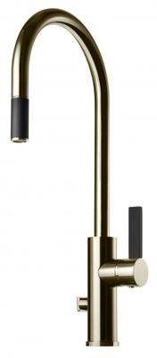 Tapwell ARM885 White Gold/Sort Kjøkkenbatteri