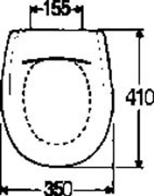 Toalettsete, Hardplast F/390