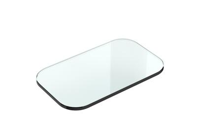 White Glasshylle, 25x15 (reservedel)