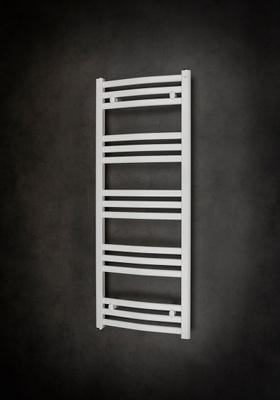 Hafa Ellips håndkletørker hvit 1180x450