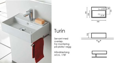 Bathco Håndkleholder for Turin