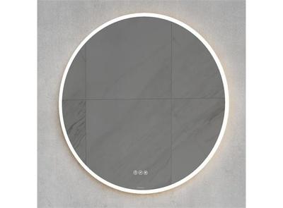 VikingBad Mie VikingBad Oda 80cm Rundt speil med lys Mål: Ø 80x3,5cm