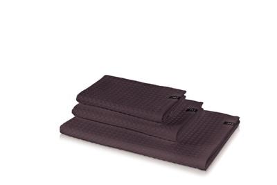 Möve Wafflepiquee Håndkle 40x70 graphit