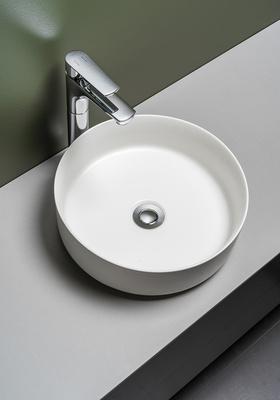 Hafa Håndvask Circle Hvit Matt