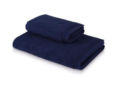 Möve Superwuschel Håndkle 50x70 mørk blå