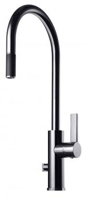 Tapwell ARM885 Krom Kjøkkenbatteri m. uttrekk og avst.