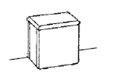 White Oppbevaringstol