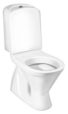 Gustavsberg Nordic3 3500 Toalett, skjult S-lås, dobbelspyling
