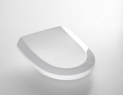 Porsgrund Trevi Toalettsete, hardplast, SC & Quick Release, faste hengsler