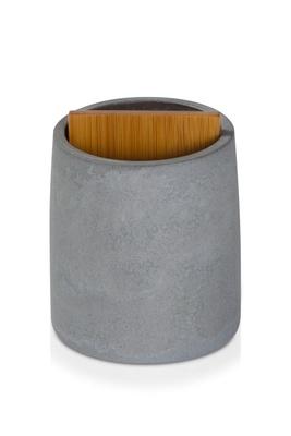 Sement Tannbørsteholder grå