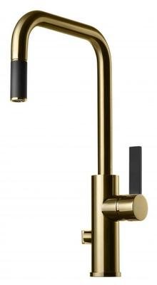 Tapwell ARM887 Honey Gold/Sort Kjøkkenbatteri