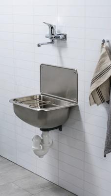 Utslagsvask med bøtterist