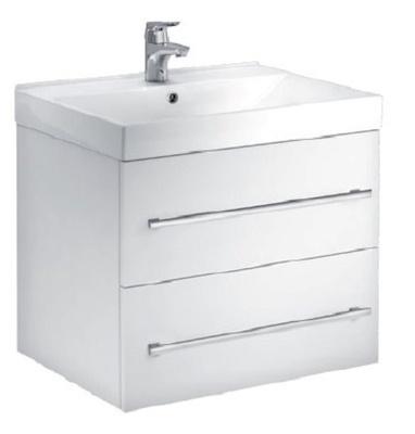 a-collection Fovere skuffeseksjon 60cm hvit, 2 skuffer høyglans hvit D46