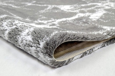 Kleine Wolke Como Baderomsmatte 70x120 Silver