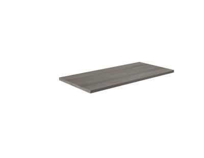 Benkeplate grå bardolino eik 100 cm