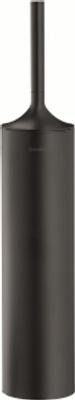 Duravit Starck T 80x80mm Toalettbørste, svart matt Gulvstående