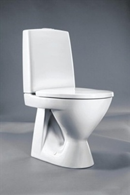 Toalett, skjult S-lås, dobbelspyling, f/liming,  Fresh