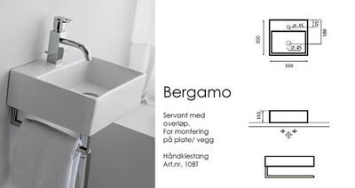 Bathco Bergamo servant