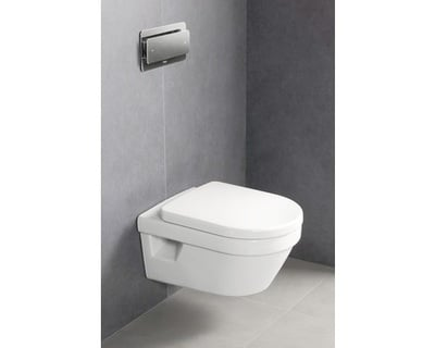 Villeroy & Boch Omnia Architectura Toalettskål for veggmontering, 530x370 mm, direct flush