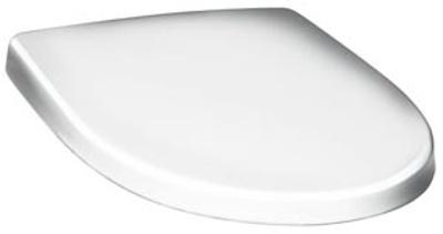 Gustavsberg Nautic Toalettsete Lux, hardplast, med faste beslag