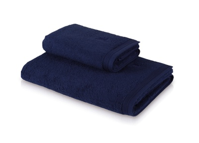 Möve Superwuschel Håndkle 80X150 mørk blå