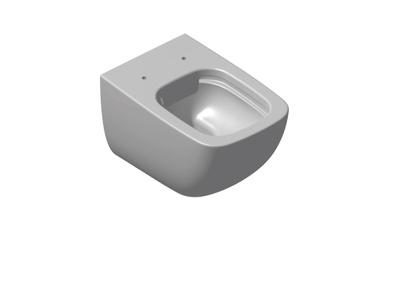 White Veggskål, uten spylekant