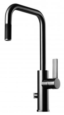 Tapwell ARM887 Krom Kjøkkenbatteri m. uttrekk og avst.
