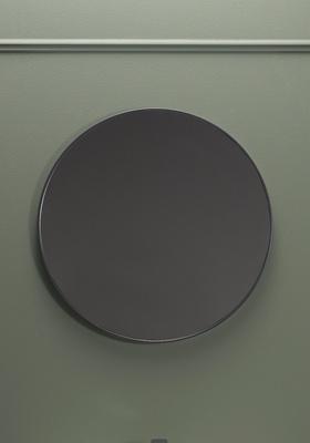 Hafa Speil rundt antracit