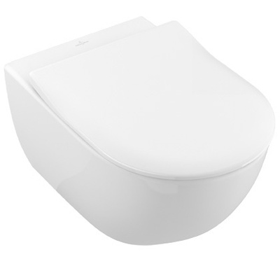 Villeroy & Boch Subway 2.0 Toalettskålpakke direct flush Inkludert Sete med Soft Close og Quick Release.