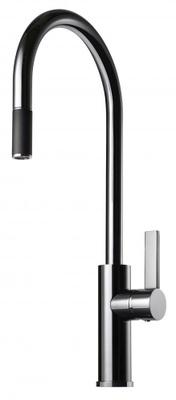Tapwell ARM185 Krom Kjøkkenbatteri m. uttrekk