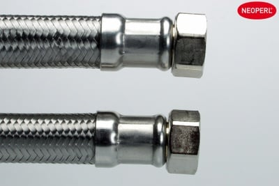 3/4Rx3/4Rx1000mm NEOFLEX® SIL DN20 Silikon slange innv. gjenge, rustfri flet