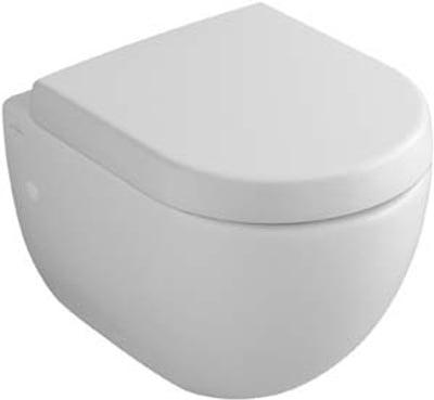 Toalettskål for veggmontering, 480x355 mm, Compact