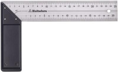 HULTAFORS VINKEL PROFF RUSTFRI 250MM V 25 P