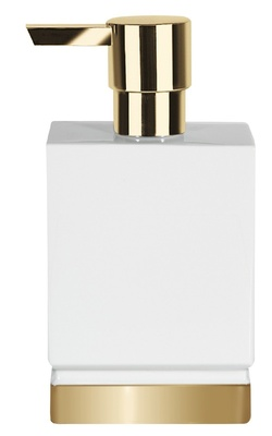 Roma Dispenser white/gold