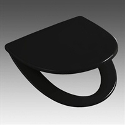 Toalettsete, Hardplast med Quick Release, faste beslag