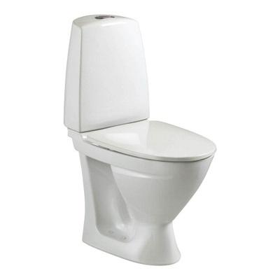 6862 Toalett, P-lås, dobbelspyling, Fresh