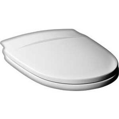 Gustavsberg Nordic Toalettsete, Hardplast, hvit