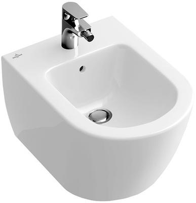 Villeroy & Boch Subway 2.0 Bidé for veggmontering, 560x370 mm