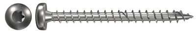 6,0X50 MM A50 TRESKRUE A2 FPF-PT PANHODE RUSTFRI A2  TX30